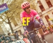 EF Education First cycling team, sponsored by Rapha