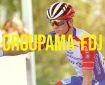 Groupama-FDJ cycling team and their young rider David Gaudu