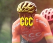 CCC cycling team and their leader Greg Van Avermaet